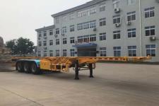 齐机12.4米33.4吨3轴集装箱运输半挂车(QLZ9400TJZ)