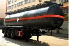 程力威10.3米31.1吨3轴杂项危险物品罐式运输半挂车(CLW9401GZW)