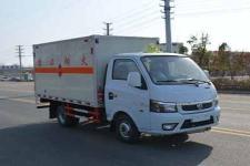 国六东风小型易燃气体厢式运输车