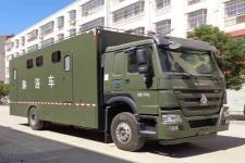程力威牌CLW5140XLYZ5型淋浴车