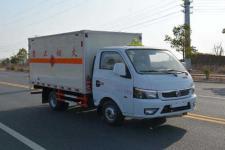 國六東風小型易燃液體廂式運輸車