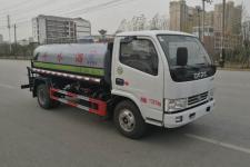 国六新款东风5吨洒水车价格