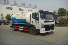 國六東風8方環衛下水管道疏通吸污車廠家最低價格