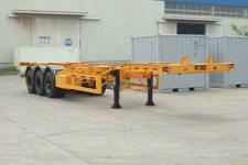 中集12.5米33.7吨3轴集装箱运输半挂车(ZJV9405TJZ)