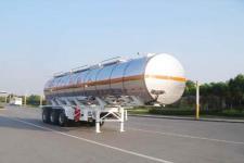 中集11米31吨3轴易燃液体罐式运输半挂车(ZJV9405GRYTHE)