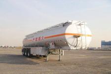 通华12.4米33.5吨3轴铝合金易燃液体罐式运输半挂车(THT9403GRYD)