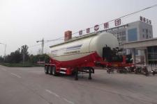 杨嘉10.5米31吨3轴下灰半挂车(LHL9400GXH)