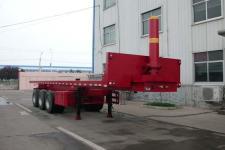 杨嘉9.7米33.4吨3轴平板自卸半挂车(LHL9400ZZXP)
