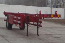 鑫永成12.5米11.7吨1轴空载集装箱运输半挂车(YJH9150TJZ)