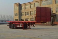 坤博12米33吨3轴平板自卸半挂车(LKB9403ZZXP)
