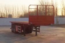 坤博10米33吨3轴平板自卸半挂车(LKB9402ZZXP)