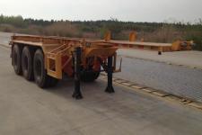 中集8.3米34.5吨3轴危险品罐箱骨架运输半挂车(ZJV9401TWYSZ)