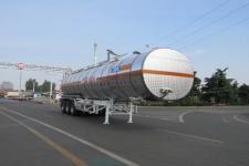 通华12.8米32.5吨3轴铝合金易燃液体罐式运输半挂车(THT9403GRYG)