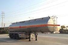 楚飞牌CLQ9401GYYBA型铝合金运油半挂车图片