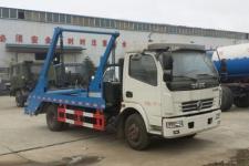 东风多利卡6方摆臂式垃圾车配置价格13607286060
