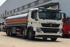 25吨哪儿的油罐车价格便宜重汽前四后八运油车