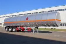 黄海牌DD9405GRYB型铝合金易燃液体罐式运输半挂车图片