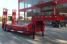 鸿盛业骏11.2米26.2吨2轴低平板半挂车(HSY9350TDP)