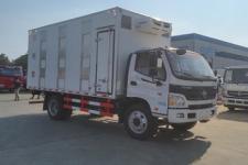 福田欧马可国五5米2猪苗畜禽运输车厂家直销价格