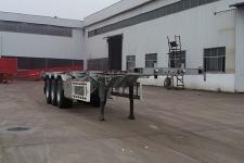 聚运达12.3米34吨3轴集装箱运输半挂车(LZY9400TJZ)