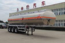 醒狮11.2米33吨3轴铝合金易燃液体罐式运输半挂车(SLS9400GRYA)