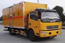 国五东风多利卡腐蚀性物品厢式运输车