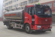 解放J6铝合金15-18吨运油车油罐车价格