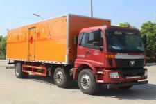 國五歐曼小三軸易燃氣體廂式運輸車