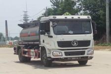 陕汽国五腐蚀性物品罐式运输车价格