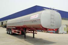 郓腾10.6米31吨3轴液态食品运输半挂车(HJM9400GYS)