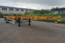 中集9.5米12.4吨1空载集装箱运输半挂车