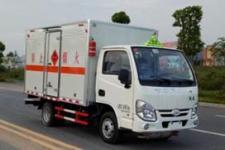 国五跃进易燃液体厢式运输车价格