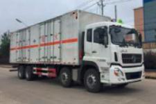 大力牌DLQ5310XZWDFH型杂项危险物品厢式运输车