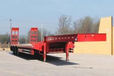 新欣鑫馨12.8米33.1吨3轴低平板半挂车(LKD9400TDP)