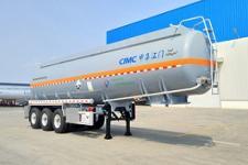 中集10.5米32.3吨3轴腐蚀性物品罐式运输半挂车(ZJV9402GFWJM)