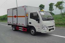 跃进小福星柴油版国五3米3易燃气体厢式运输车