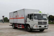 国五东风天锦易燃气体厢式运输车厂家直销最低价格