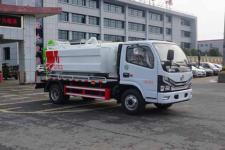 国六东风多利卡4方高压清洗吸污车厂家最低价格