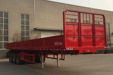 川腾12米32吨3轴自卸半挂车(HBS9400ZZX)