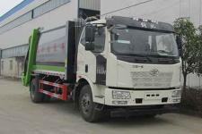 中汽力威牌HLW5180ZYS6CA型压缩式垃圾车
