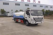 國六福田8噸灑水車價格