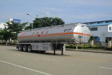 运力12.6米32.8吨3轴铝合金运油半挂车(LG9404GYY)