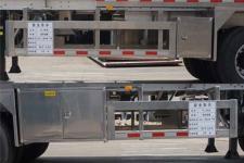 运力牌LG9403GYY型铝合金运油半挂车图片