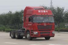 陕汽后双桥,后八轮牵引车0马力(SX4258NV384TL)