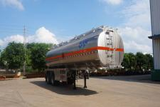 运力10米30.1吨2轴铝合金运油半挂车(LG9356GYY)