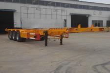 庄宇12.5米33.8吨3集装箱运输半挂车