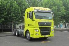 汕德卡牌ZZ4256V383HE1L型牵引汽车