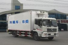东风天锦国五冷藏车6.1米厢体厂家直销可上牌
