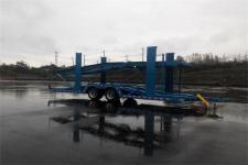 重特11.2米8.7吨2轴中置轴车辆运输挂车(QYZ9160TCLZ)