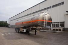 运力11.5米33.1吨3轴铝合金运油半挂车(LG9405GYYA)